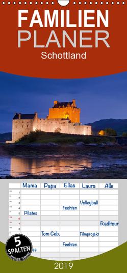 Schottland – Familienplaner hoch (Wandkalender 2019 , 21 cm x 45 cm, hoch) von Dauerer,  Jörg