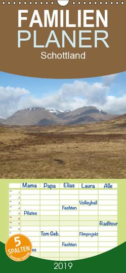 Schottland – Familienplaner hoch (Wandkalender 2019 , 21 cm x 45 cm, hoch) von ~bwd~