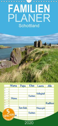 Schottland – Familienplaner hoch (Wandkalender 2020 , 21 cm x 45 cm, hoch) von Scholz,  Frauke