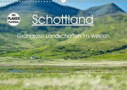 Schottland – grandiose Landschaften im Westen (Wandkalender 2019 DIN A3 quer) von Schaefer,  Anja