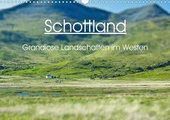 Schottland – grandiose Landschaften im Westen (Wandkalender 2020 DIN A3 quer) von Schaefer,  Anja