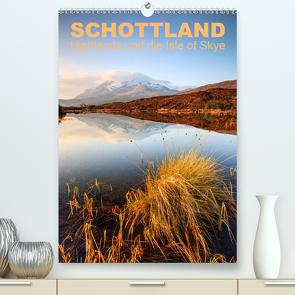 Schottland: Highlands und die Isle of Skye (Premium, hochwertiger DIN A2 Wandkalender 2020, Kunstdruck in Hochglanz) von Aust,  Gerhard