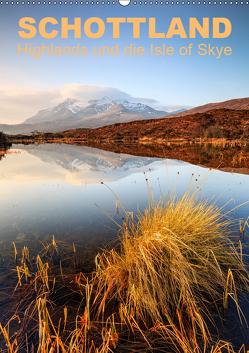 Schottland: Highlands und die Isle of Skye (Wandkalender 2019 DIN A2 hoch) von Aust,  Gerhard