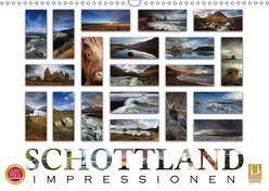 Schottland Impressionen (Wandkalender 2019 DIN A3 quer) von Cross,  Martina