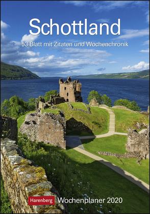 Schottland Kalender 2020 von Harenberg, Raach,  Karl-Heinz