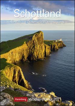 Schottland Kalender 2021 von Gerth,  Roland, Harenberg