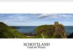 Schottland – Land am Wasser (Wandkalender 2021 DIN A3 quer) von Gronostay,  Norbert