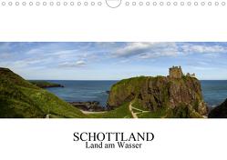 Schottland – Land am Wasser (Wandkalender 2021 DIN A4 quer) von Gronostay,  Norbert
