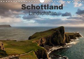 Schottland Landschaften (Wandkalender 2018 DIN A4 quer) von Gerken,  Klaus