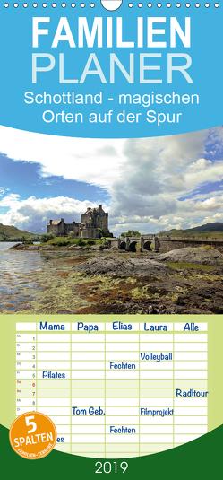 Schottland – magischen Orten auf der Spur – Familienplaner hoch (Wandkalender 2019 , 21 cm x 45 cm, hoch) von Winter,  Alexandra