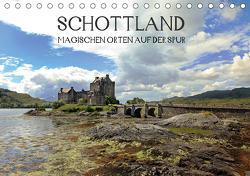 Schottland – magischen Orten auf der Spur (Tischkalender 2021 DIN A5 quer) von Winter,  Alexandra