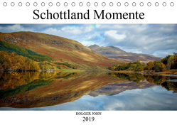 Schottland Momente (Tischkalender 2019 DIN A5 quer) von John,  Holger