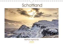 Schottland – Mythos Highlands (Wandkalender 2020 DIN A4 quer) von Akrema-Photography