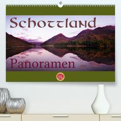 Schottland Panoramen (Premium, hochwertiger DIN A2 Wandkalender 2021, Kunstdruck in Hochglanz) von Cross,  Martina