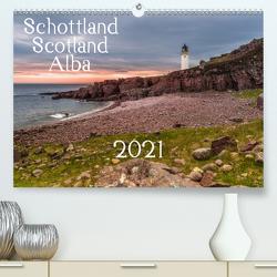 Schottland – Scotland – Alba (Premium, hochwertiger DIN A2 Wandkalender 2021, Kunstdruck in Hochglanz) von Eschrich,  Heiko