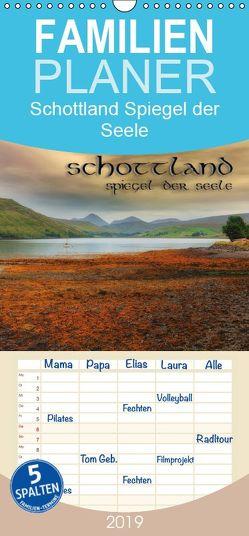 Schottland – Spiegel der Seele – Familienplaner hoch (Wandkalender 2019 , 21 cm x 45 cm, hoch) von Photography,  Simply