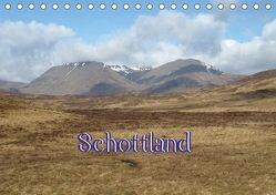 Schottland (Tischkalender 2018 DIN A5 quer) von ~bwd~,  k.A.