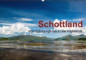 SCHOTTLAND – Von Edinburgh bis in die Highlands (Wandkalender 2016 DIN A2 quer) von Gärtner - franky242 photography,  Frank