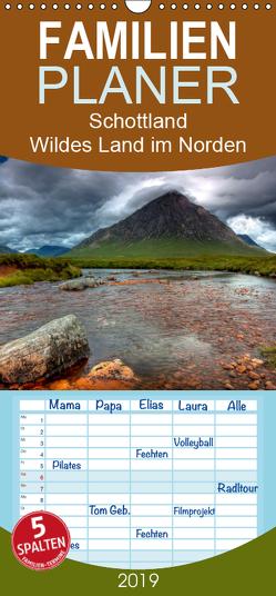 Schottland – Wildes Land im Norden – Familienplaner hoch (Wandkalender 2019 , 21 cm x 45 cm, hoch) von kalender365.com