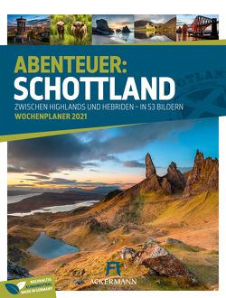 Schottland – Wochenplaner Kalender 2021