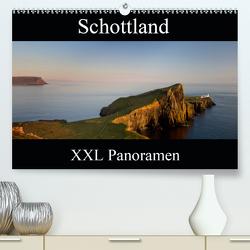 Schottland – XXL Panoramen (Premium, hochwertiger DIN A2 Wandkalender 2021, Kunstdruck in Hochglanz) von Schonnop,  Juergen