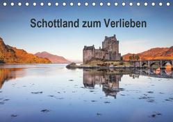 Schottland zum Verlieben (Tischkalender 2019 DIN A5 quer) von Berger,  Anne
