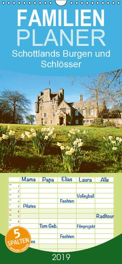 Schottlands Burgen und Schlösser – Familienplaner hoch (Wandkalender 2019 , 21 cm x 45 cm, hoch) von CALVENDO