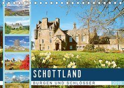 Schottlands Burgen und Schlösser (Tischkalender 2019 DIN A5 quer) von CALVENDO