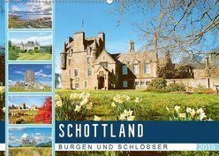 Schottlands Burgen und Schlösser (Wandkalender 2019 DIN A2 quer) von CALVENDO