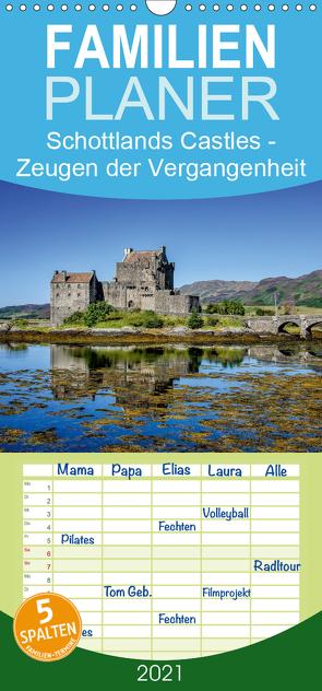 Schottlands Castles – Zeugen der Vergangenheit – Familienplaner hoch (Wandkalender 2021 , 21 cm x 45 cm, hoch) von Rothenberger,  Bernd