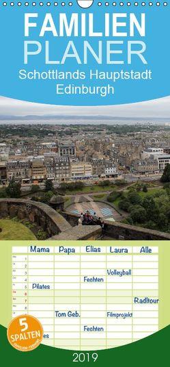 Schottlands Hauptstadt Edinburgh – Familienplaner hoch (Wandkalender 2019 , 21 cm x 45 cm, hoch) von Sabel,  Jörg