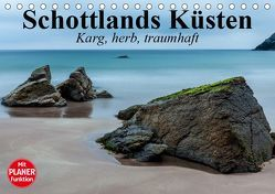 Schottlands Küsten. Karg, herb, traumhaft (Tischkalender 2019 DIN A5 quer) von Stanzer,  Elisabeth