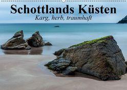 Schottlands Küsten. Karg, herb, traumhaft (Wandkalender 2019 DIN A2 quer) von Stanzer,  Elisabeth