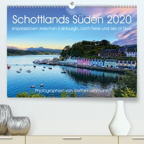 Schottlands Süden 2020. Impressionen zwischen Edinburgh, Loch Ness und Isle of Skye (Premium, hochwertiger DIN A2 Wandkalender 2020, Kunstdruck in Hochglanz) von Lehmann,  Steffani