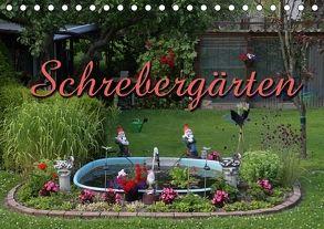 Schrebergärten (Tischkalender 2018 DIN A5 quer) von Berg,  Martina