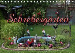Schrebergärten (Tischkalender 2019 DIN A5 quer) von Berg,  Martina