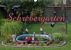 Schrebergärten (Wandkalender 2018 DIN A3 quer) von Berg,  Martina