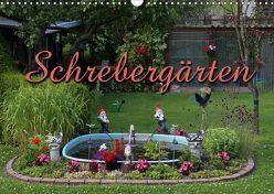 Schrebergärten (Wandkalender 2019 DIN A3 quer) von Berg,  Martina