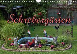 Schrebergärten (Wandkalender 2019 DIN A4 quer) von Berg,  Martina