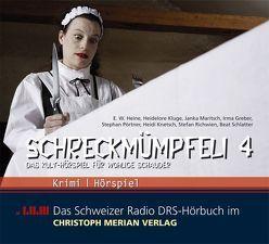 Schreckmümpfeli 4 von Greber,  Irma, Heine,  E. W., Kluge,  Heidelore, Knetsch,  Heidi, Maritsch,  Janka, Poertner,  Stephan, Richwien,  Stefan, Schlatter,  Beat