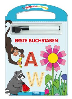 Schreib und Wisch Weg Erste Buchstaben mit Stift