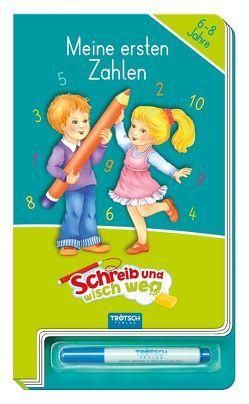 """Schreib und wisch weg """"Zahlen"""""""