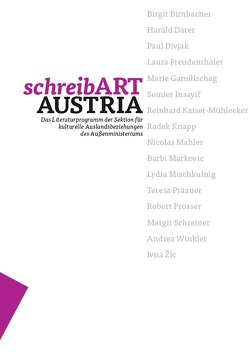 schreibART AUSTRIA von Atzler,  Elke, Dennhardt-Herzog,  Waltraud, Indjein,  Teresa