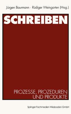 Schreiben von Baurmann,  Jürgen, Weingarten,  Rüdiger