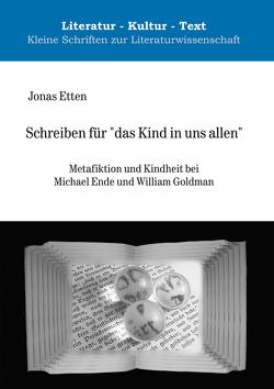"""Schreiben für """"das Kind in uns allen"""" von Etten,  Jonas"""