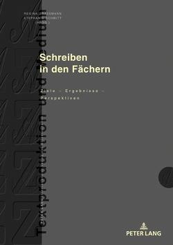 Schreiben in den Fächern von Graßmann,  Regina, Schmitt,  Stephanie