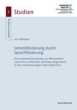 Schreibförderung durch Sprachförderung von Rüßmann,  Lars