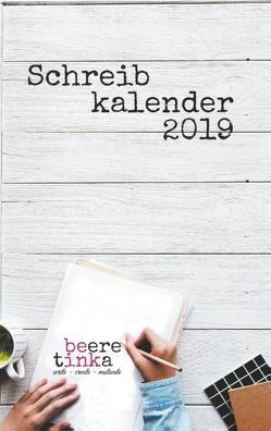 Schreibkalender 2019 von Beere,  Tinka