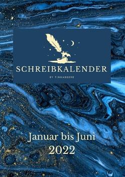 Schreibkalender 2022 von Beere,  Tinka