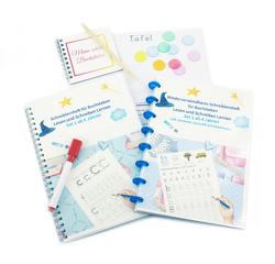 Schreiblernheft für Buchstaben Lesen und Schreiben Lernen